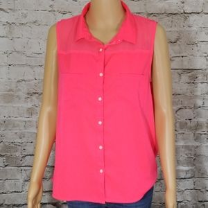 American eagle outfitters XL hot pink top